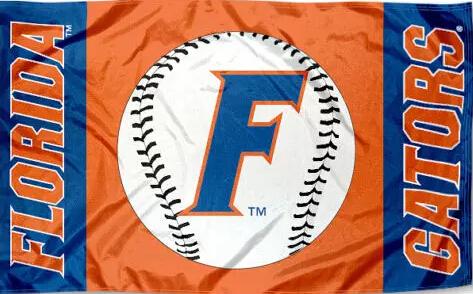 University of Florida Flag NCAA 3ft x 5ft Polyester Banner Flying 150* 90cm Custom flag sport helmet UF2(China (Mainland))