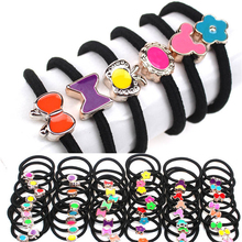 Buy 2017 Fashion Women Elastic Hair Bands Black Scrunchy Headband Bow Ring Girls Hair Accessories Rubber Gum Ornaments Random 10pcs for $1.01 in AliExpress store