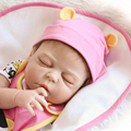 23 Inch 57cm NPK Full silicone body reborn babies girl Sleeping dolls Lifelike Real Bebe Brinquedos
