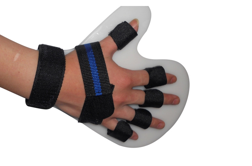 Hand Finger Rehabilitation Plate orthotic brace sprained Separating Hemiplegia and Cerebral Palsy or Infarction Spasm Deformity(China (Mainland))