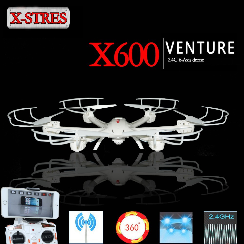 Newest Kids Toys MJX X600 RC Helicopter 2.4G 6-Axis Quadcopter Drone with C4005 FPV Wifi HD Camera (Black,White) Free Shipping(China (Mainland))