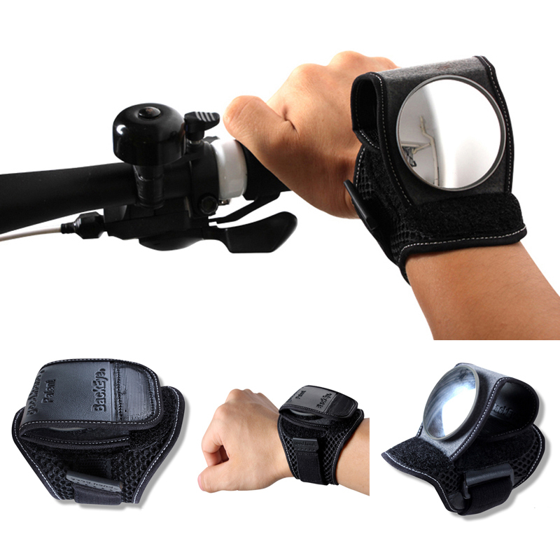 Wide Angle Bicycle Rear View Mirror Safety Bike Cycling Handle Back Mirror Flexible Bicycle Handlebar Side
