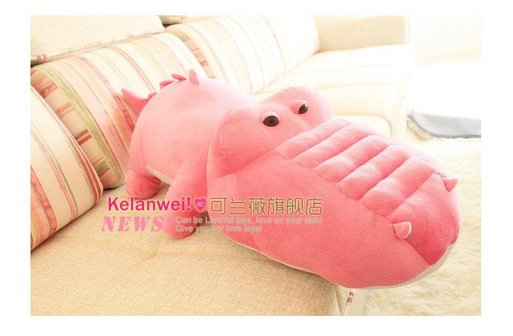 huge 150cm cartoon crocodile plush toy soft sleeping pillow toy birthday gift t7007<br><br>Aliexpress