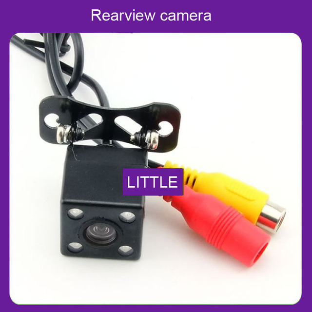 Free shipping Parking Assistance Night vision car camera Rear view back up ccd hd car camera  parking camera