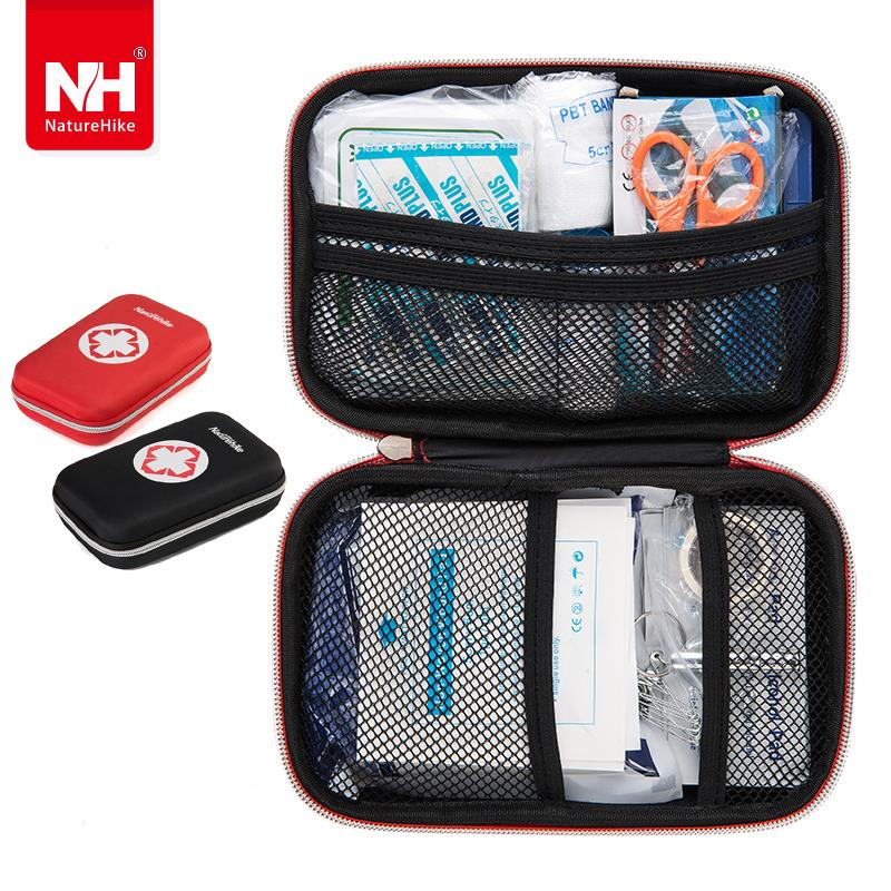 NatureHike Outdoor Survival First-aid Kit Package Portable Climbing Emergency Bag Disaster Dedicated(China (Mainland))