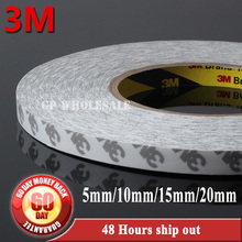 Buy 4pcs 5mm/10mm/15mm/20mm width*50 meters 3M 9080 Double Sided Adhesive Tape Electronics Panel, Touch Screen, LED Strip Bond for $49.79 in AliExpress store