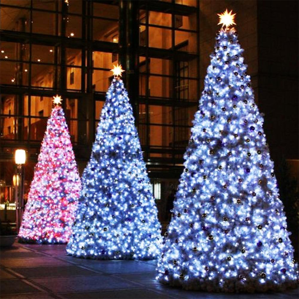 220V EU 20m/200leds led string light for Holiday Wedding Christmas, decoration for Party garland lighting led lights outdoor(China (Mainland))