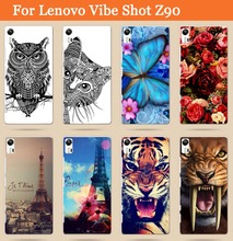 Lenovo Vibe Shot Z90 Z90-7 DIY Case free shipping phone cover cool animal painted phone back stand for lenovo vibe shot z90