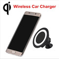 Car Qi Wireless Charger Sticky Phone Holder Mount Wireless Charging Pad for iPhone 6 6s Plus