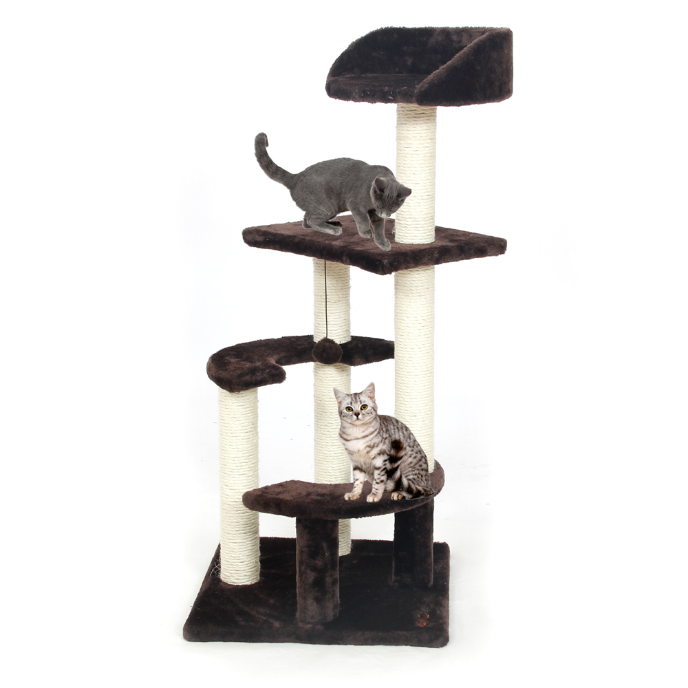 Domestic Delivery Animal Luxury Furniture PAWZ Road Cat Tree Pet House Furniture Cat Toys Scratching Post Wood Climbing Tree(China (Mainland))