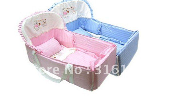 Free Shipping Ems Baby Cot Bed Easy To Carry And