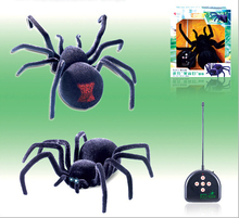"New anime Name ""Poly""  Intelligent Machine Remote Control Robot Toys Black Widow Spider Electronic Pets Baby Toy Gifts For Kids(China (Mainland))"