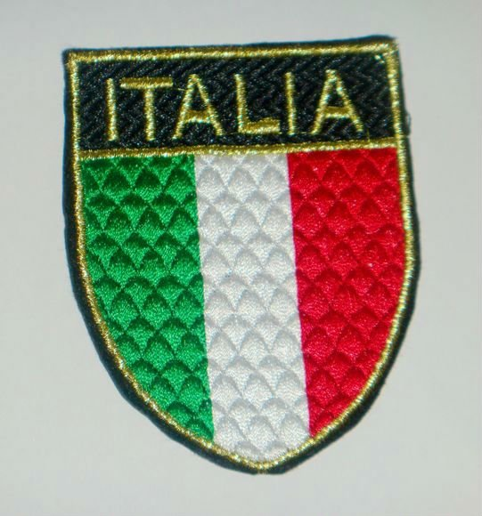 """3"""" Italia Football Team UEFA Sewing On embroidery patch jersey soccer Sport Patch Badge wholesale cheap dropship(China (Mainland))"""