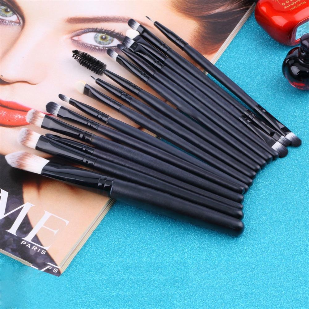 15 шт./компл. тени фонд карандаш для губ кисти макияж кисти инструменты косметика комплекты красоты составляют щетки