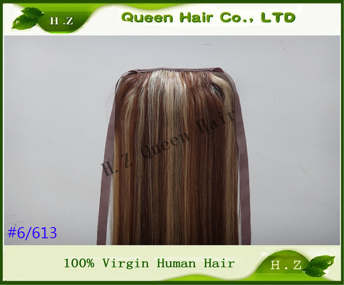 Extension Hair Human Ponytail 115
