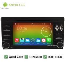 Quad core Android 5 1 1 2DIN 7 WIFI FM 1024 600 font b Car b