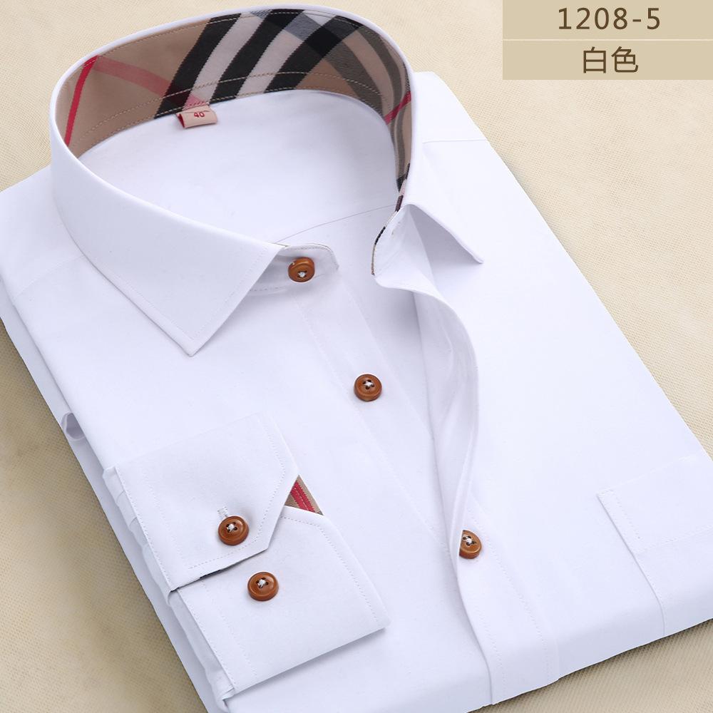 High Quality Mens 2015 Fashion Spring New Men s Casual Shirts Cheap Long Sleeve Men Dress