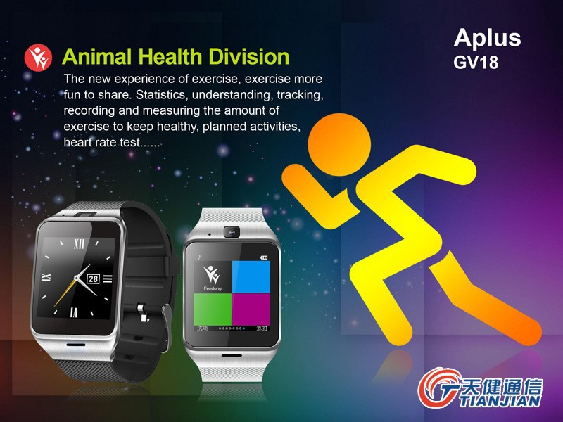 Smart Watch Gv18 Aplus Android Clock SIM Card  Bluetooth Smartwatch Waterproof Wearable Devices GSM Montre Connecter Reloj Movil