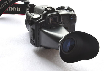 V2 for 2.8x 3 inches LCD Viewfinder  & for 550D  D90 digital camera dslr /  Screen extender magnifier