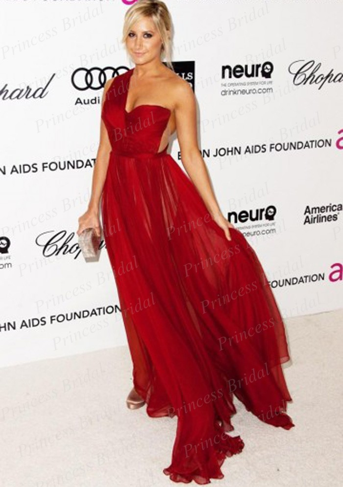 Ashley tisdale red carpet dresses - photo#2