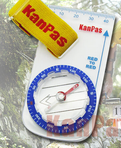 Portable compass for training magnetic thumb compass outdoor orienteering neodymium(China (Mainland))