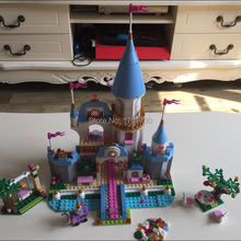 SY325 Building Block Cinderella Romantic Castle Princess Friend Blocks Bricks Girl Sets Toys girl model toy(China (Mainland))