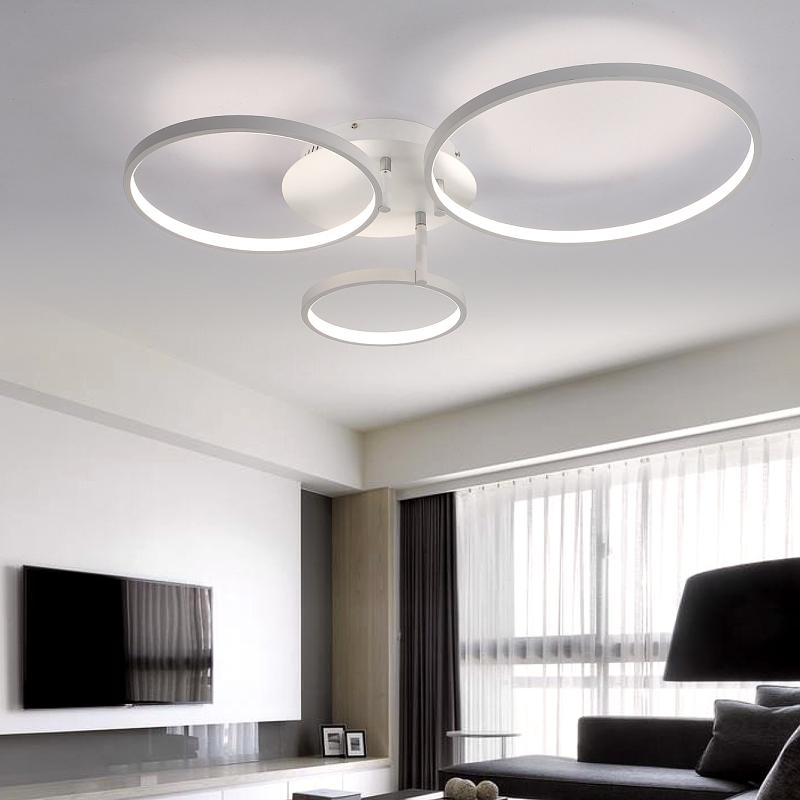 new arrival circle rings designer modern led ceiling