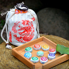 Total of 9 Kinds of Taste 45 PCS Different Chinese Puerh Tea Puer Ripe Tea Pu-erh Cake Healthy
