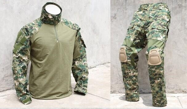 ventes aux enchères TMC1819-A2-TMC1829-Firewire-base-suits-AOR2-shirt-pants-military-uniform
