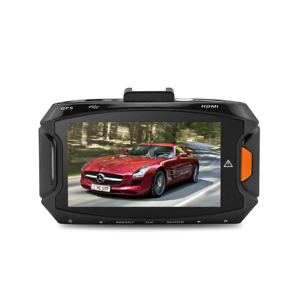 """Car DVR Ambarella A7L50 GS90A Car Video Recorder Dash Cam Full HD 1296P 30fps 2.7""""lcd G-sensor HDR H.264 Car Camera GPS Optional"""