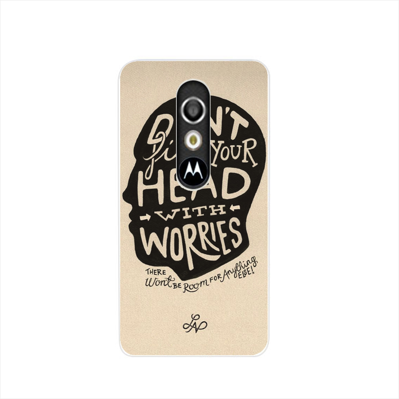 08880 try hard enough housing Cover cell phone Case for Motorola Moto G3 G 3rd Gen Generation(China (Mainland))