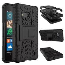 ShockProof Armor Stand Case for Microsoft Lumia 550 Cover funda,Hybrid TPU+PU Cell Phone Smart Cover for Nokia Lumia 550 Case(China (Mainland))