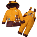 Down Jacket For Girls Snowsuit Winter For Boy Children Warm Jackets Toddler Outerwear Baby Suits Coat