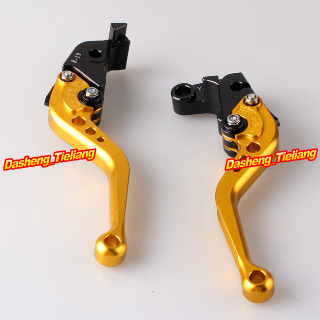 Racing Short Brake Clutch Levers For Yamaha YZF R1 2009 2010 2011 2012 2013 Aluminum Alloy CNC Machined(China (Mainland))