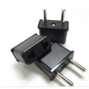 free shipping + 20pcs/lot,US/USA TO EUROPEAN EU TRAVEL PLUG Charger ADAPTER Converter
