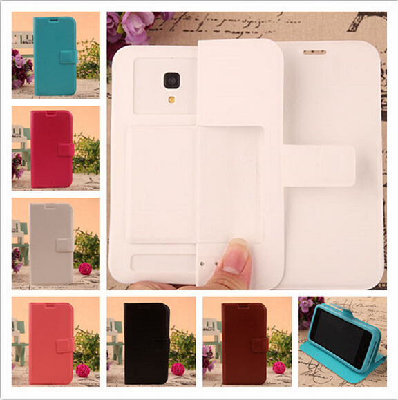 For Fly FS451 Nimbus 1 Case New Flip Leather Silicon Soft Back Cover Protect Phone Cases(China (Mainland))