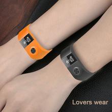 Buy Fashion Heart Rate Smart Bracelet Wristband BSX101 Alarm Clock Smartband Iphone Xiaomi Huawei Sony PK I5 Xiaomi Miband for $20.66 in AliExpress store