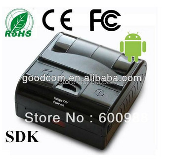 2015 Big Sale 3inch Water Proof Portable Printer MTP80/MPT III with bluetooth/infrared/RS232/USB