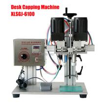 XLSGJ-6100 Desktop Medical bottle capping machine,chemical,Cosmetic,round capping machine,bottle lid locking machine(China (Mainland))