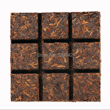 Top grade Yunnan Puer tea puer brick 301 amber cubes cooked compessed pu er big leaves Menghai pu'er puerh - eLife Co.,Ltd store