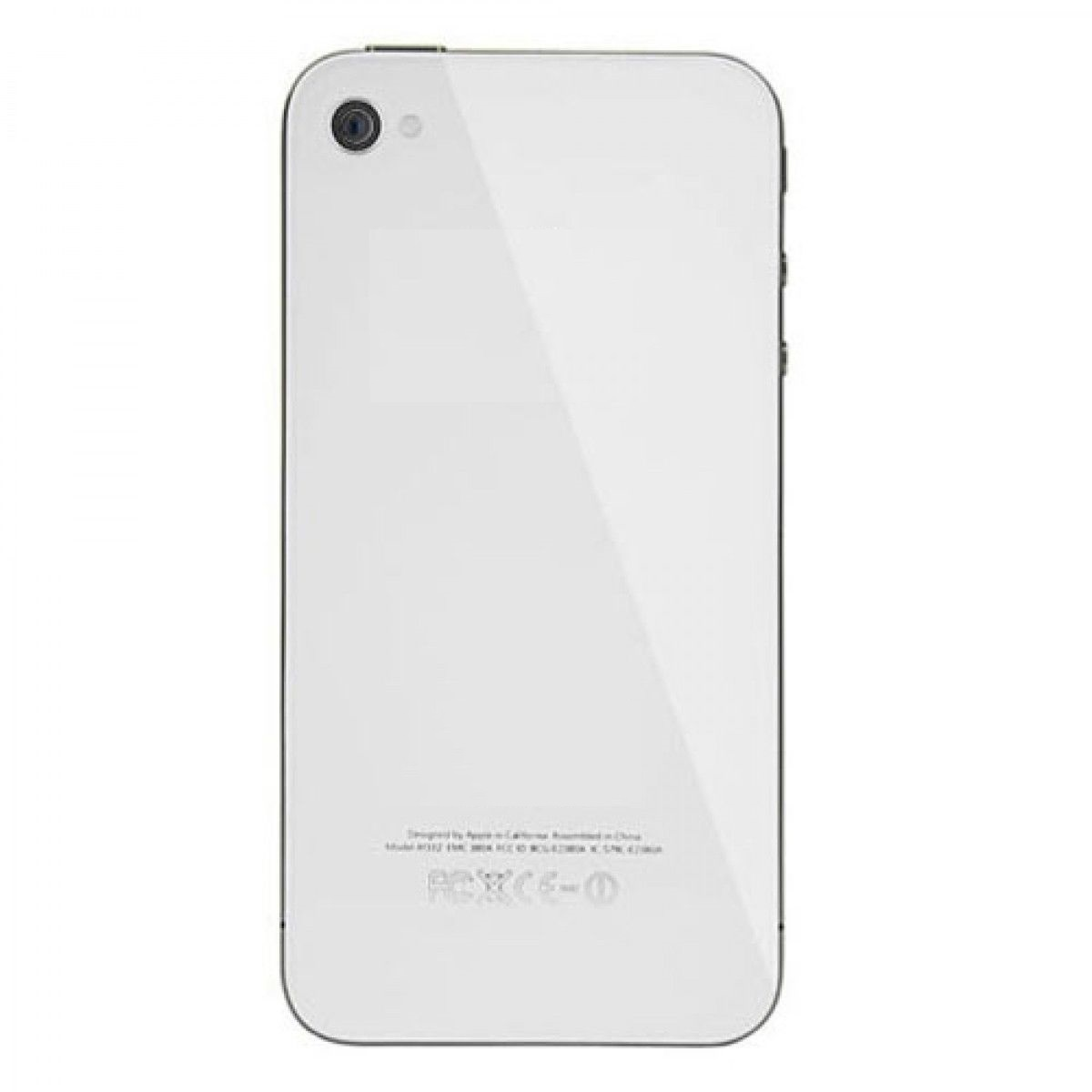 For Apple iPhone 4 4G AT&T GSM OEM Black/White Color Back Battery Door Cover With Frame(Hong Kong)