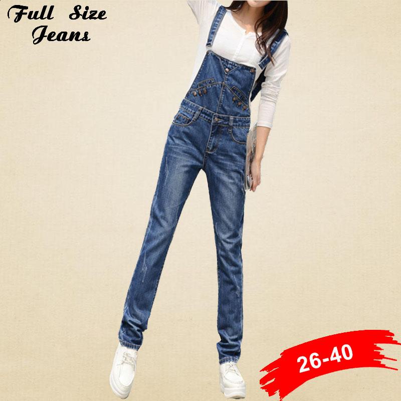 Online Get Cheap Jeans Jumpsuit Plus Size -Aliexpress.com ...