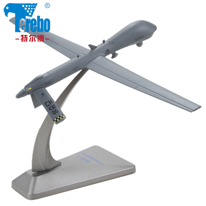 MQ-1 Predator drone reconnaissance aircraft model of military simulation alloy ornaments American fighter<br><br>Aliexpress