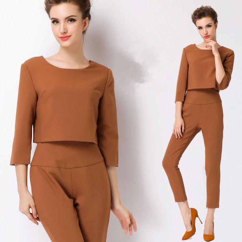 Ladies Designer Pants Suits Ladies Formal Pants Suits New