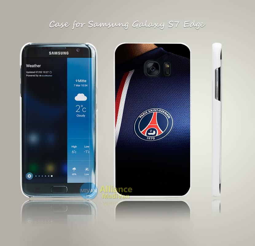 ac61 wallpaper psg paris saint germain soccer Print Hard White Case Cover for Samsung Galaxy S4 S5 S6 S7 Edge Plus +(China (Mainland))