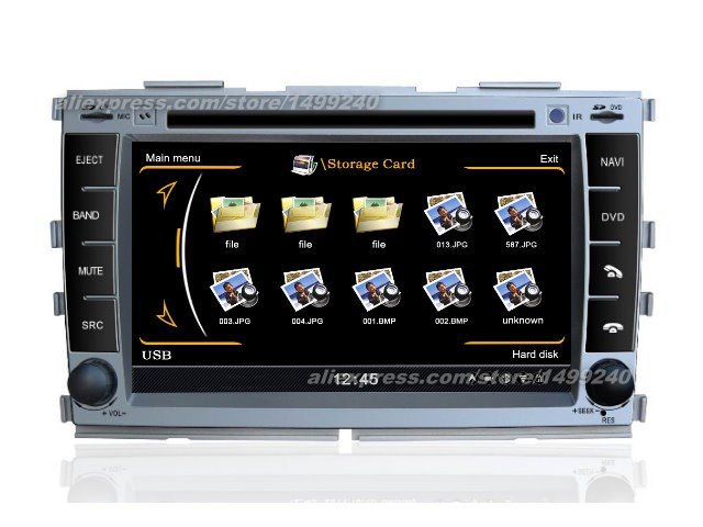 For KIA Forte 2009~2012 - Car GPS Navigation System + Radio TV DVD iPod BT 3G WIFI HD Screen Multimedia System(China (Mainland))
