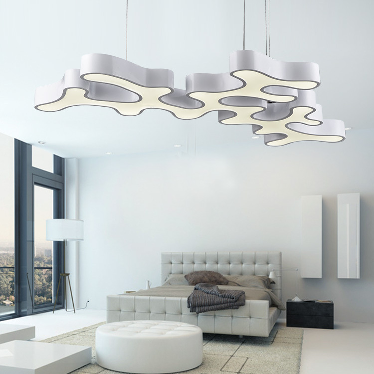 Free shipping New Designe Modern LED pendant lighting large size warranty luxury modern pendant lights kitchen home lamps(China (Mainland))