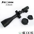 Best optical sight sniper 2 20x44 riflescope long range Illuminated crosshair Red Green shooting hunting Mil