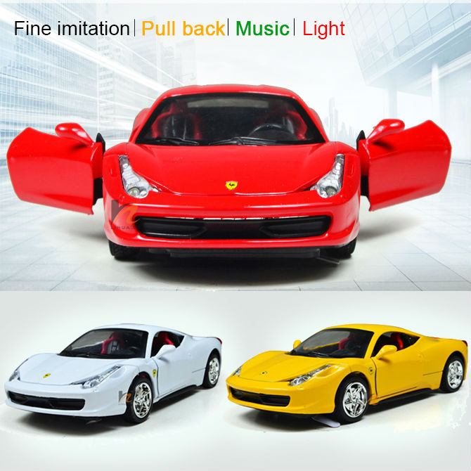 2015 New Scale models 1:36 Classic Electric Racing Alloy High Emulational Kinsmart metal Cars Miniatures toys gift for Children<br><br>Aliexpress