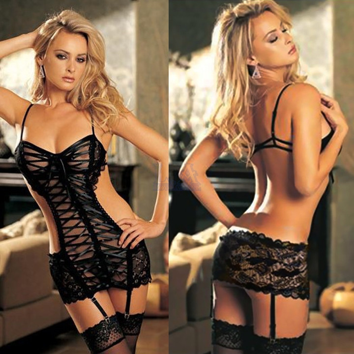 2015 Sexy Costumes Women erotic lingerie sexy hot Underwear Lace Net Sex Product Ladies Sexy Nightwear Body Suits NY1023(China (Mainland))
